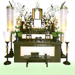 仏式 電装飾り4尺