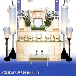 神道 電装飾り5尺3段