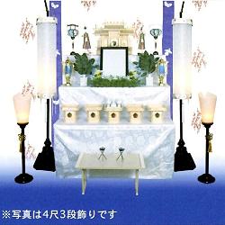 神道飾り 5尺4段