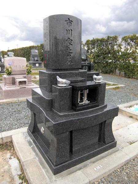 和洋型墓石(神徒型)